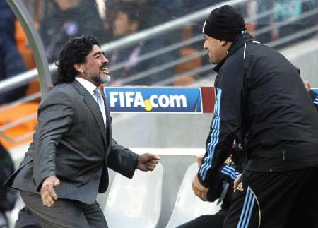 Dünya kupasında Maradona şov! galerisi resim 10