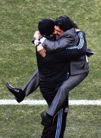 Dünya kupasında Maradona şov! galerisi resim 12