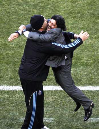 Dünya kupasında Maradona şov! galerisi resim 13
