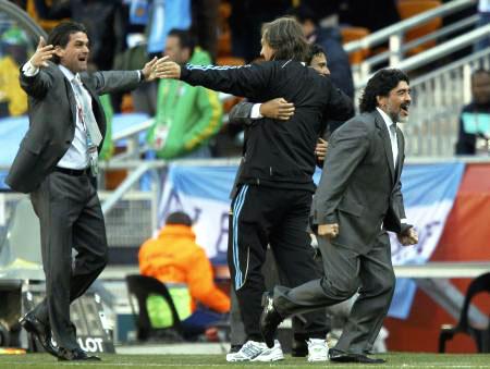 Dünya kupasında Maradona şov! galerisi resim 15