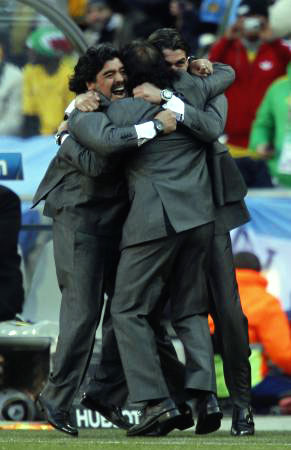 Dünya kupasında Maradona şov! galerisi resim 17