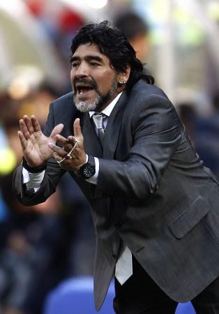 Dünya kupasında Maradona şov! galerisi resim 2