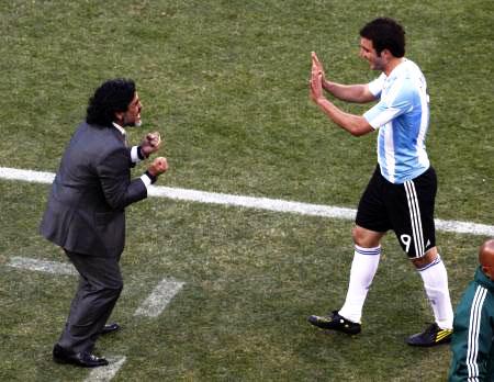 Dünya kupasında Maradona şov! galerisi resim 20