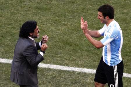 Dünya kupasında Maradona şov! galerisi resim 21