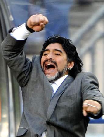 Dünya kupasında Maradona şov! galerisi resim 22