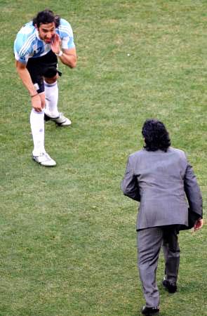 Dünya kupasında Maradona şov! galerisi resim 23