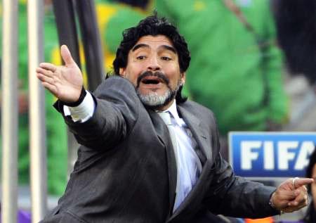 Dünya kupasında Maradona şov! galerisi resim 24