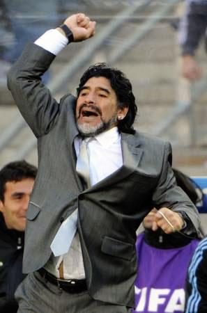 Dünya kupasında Maradona şov! galerisi resim 27