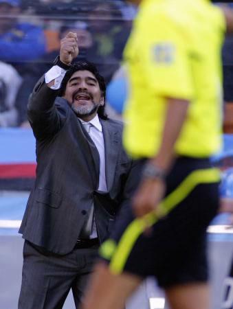 Dünya kupasında Maradona şov! galerisi resim 7