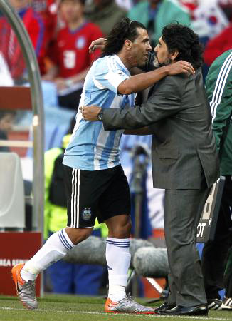 Dünya kupasında Maradona şov! galerisi resim 8