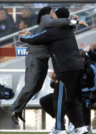 Dünya kupasında Maradona şov! galerisi resim 9
