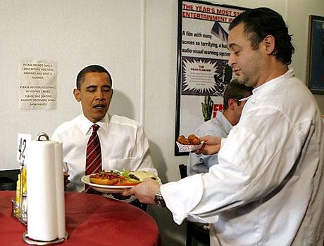 Obama ve Medvedev hamburgerci'de galerisi resim 6