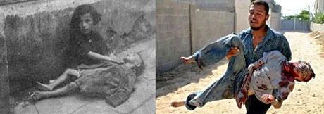 Hitler-İsrail zulmünde şaşırtan benzerlik! galerisi resim 27