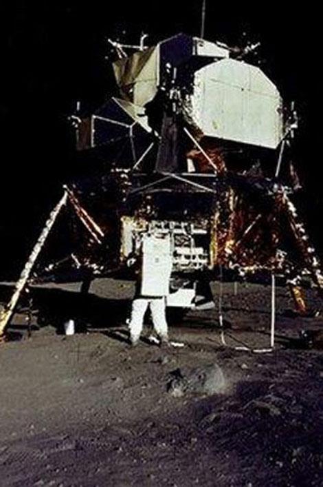 40 yıl önce Ay'da ilk adımlar galerisi resim 13