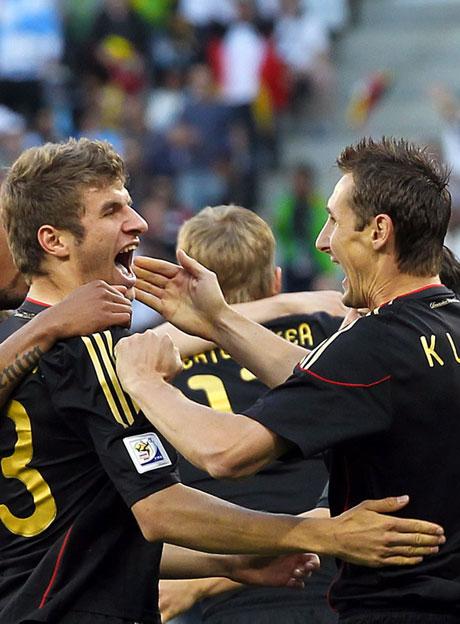Almanya Arjantin'i parçaladı: 4-0 galerisi resim 23