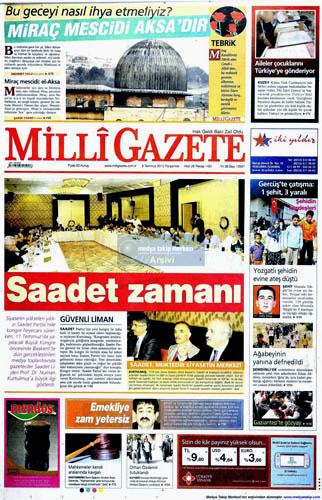 AYM kararını gazeteler nasıl gördü galerisi resim 6