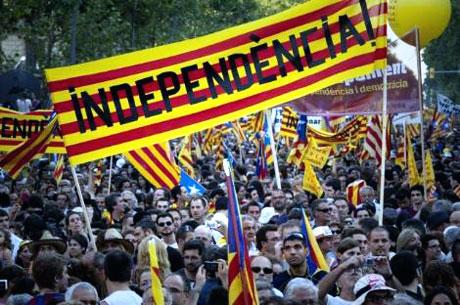1 milyon Katalon 'biz ulusuz' dedi galerisi resim 11