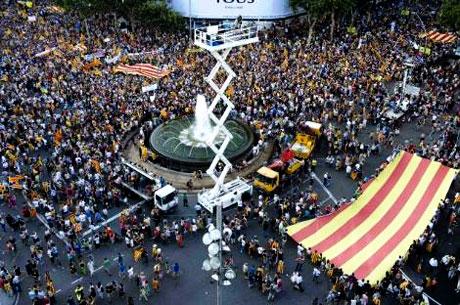 1 milyon Katalon 'biz ulusuz' dedi galerisi resim 14