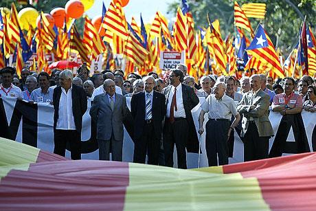 1 milyon Katalon 'biz ulusuz' dedi galerisi resim 16