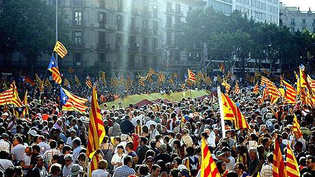 1 milyon Katalon 'biz ulusuz' dedi galerisi resim 17