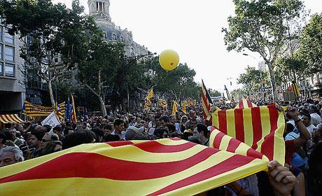 1 milyon Katalon 'biz ulusuz' dedi galerisi resim 18