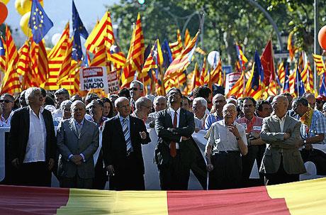 1 milyon Katalon 'biz ulusuz' dedi galerisi resim 20