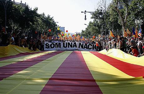 1 milyon Katalon 'biz ulusuz' dedi galerisi resim 21