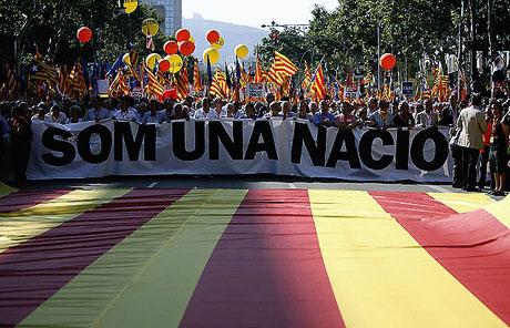 1 milyon Katalon 'biz ulusuz' dedi galerisi resim 22