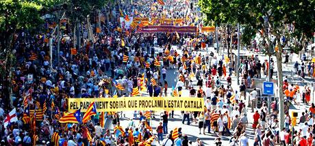1 milyon Katalon 'biz ulusuz' dedi galerisi resim 25