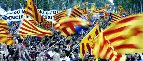 1 milyon Katalon 'biz ulusuz' dedi galerisi resim 26