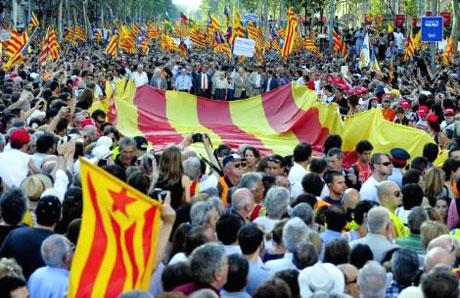 1 milyon Katalon 'biz ulusuz' dedi galerisi resim 28
