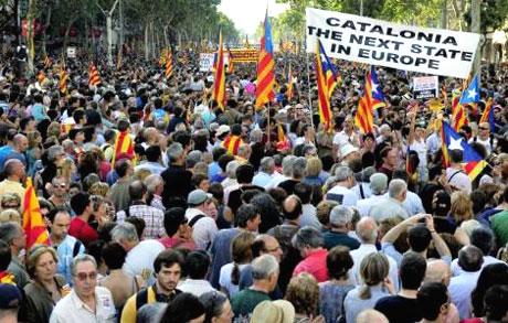 1 milyon Katalon 'biz ulusuz' dedi galerisi resim 4