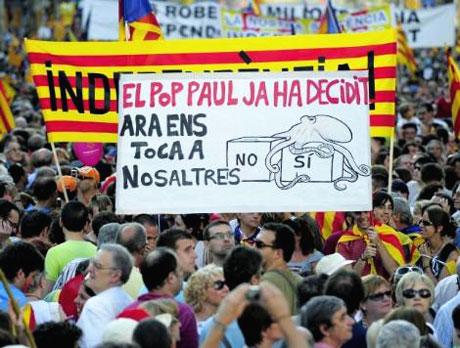 1 milyon Katalon 'biz ulusuz' dedi galerisi resim 5