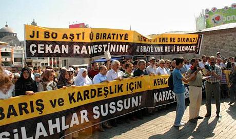 İslamcılar Kürtler için yürüdü galerisi resim 13
