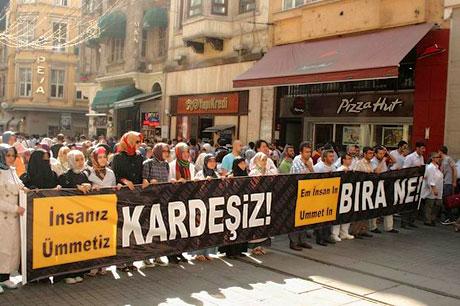 İslamcılar Kürtler için yürüdü galerisi resim 3