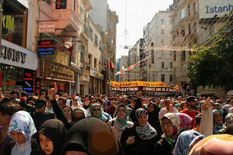 İslamcılar Kürtler için yürüdü galerisi resim 5
