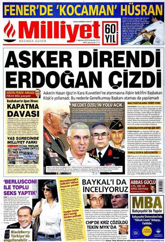 Gazetelerin müthiş YAŞ manşetleri galerisi resim 10