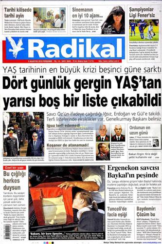 Gazetelerin müthiş YAŞ manşetleri galerisi resim 11