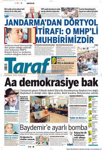 Gazetelerin müthiş YAŞ manşetleri galerisi resim 14