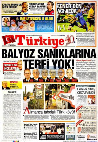 Gazetelerin müthiş YAŞ manşetleri galerisi resim 15