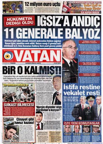 Gazetelerin müthiş YAŞ manşetleri galerisi resim 16