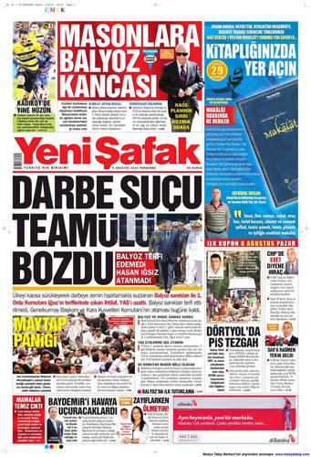 Gazetelerin müthiş YAŞ manşetleri galerisi resim 18