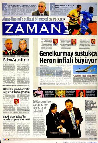 Gazetelerin müthiş YAŞ manşetleri galerisi resim 19