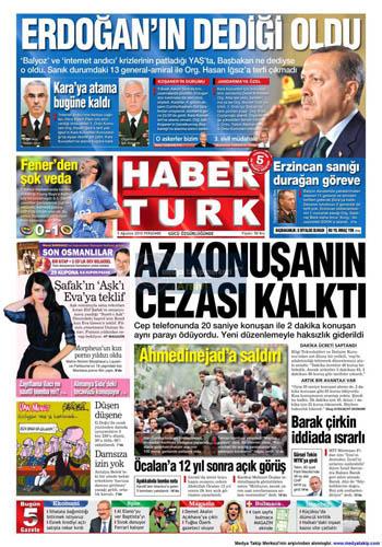 Gazetelerin müthiş YAŞ manşetleri galerisi resim 5