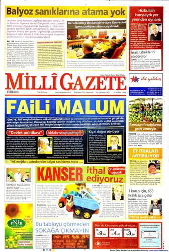 Gazetelerin müthiş YAŞ manşetleri galerisi resim 6