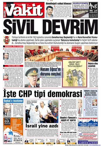 Gazetelerin müthiş YAŞ manşetleri galerisi resim 8