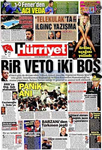 Gazetelerin müthiş YAŞ manşetleri galerisi resim 9