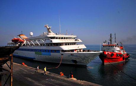Mavi Marmara Türkiye'ye geldi galerisi resim 12