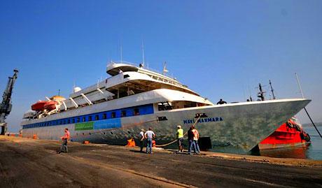 Mavi Marmara Türkiye'ye geldi galerisi resim 16