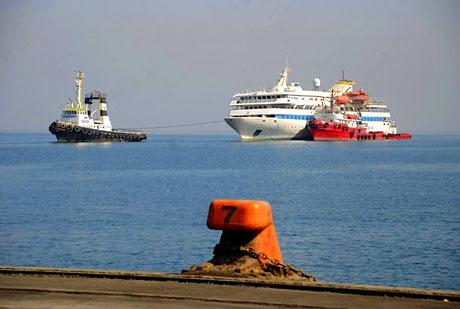 Mavi Marmara Türkiye'ye geldi galerisi resim 6
